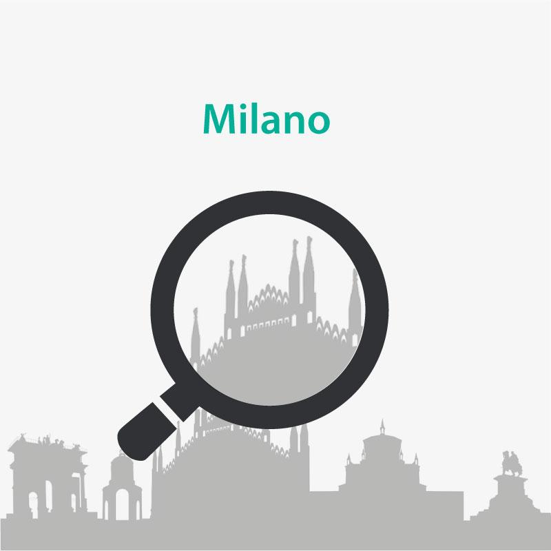 Luciano Ponzi Investigazioni, Sede di Milano