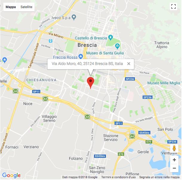 sede agenzia investigativa Brescia - Investigazioni Ponzi