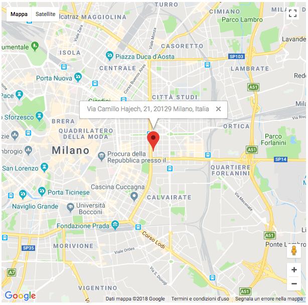 sede agenzia investigativa Milano - Investigazioni Ponzi