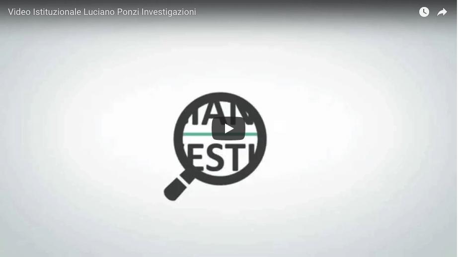 video agenzia investigazioni ponzi luciano