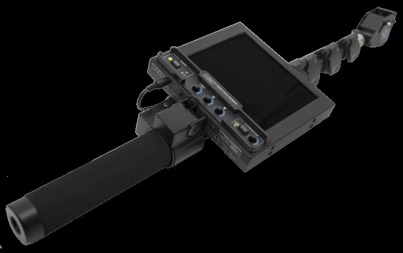 Video pole camera per rilevare microspie